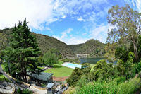 Cataract Gorge entrance view