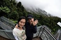 Yin and Nicole at Scenic World