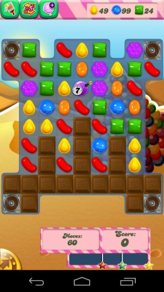 Candy Crush Level 165 Screenshot