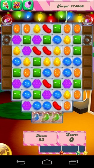 Candy Crush Level 275 Screenshot